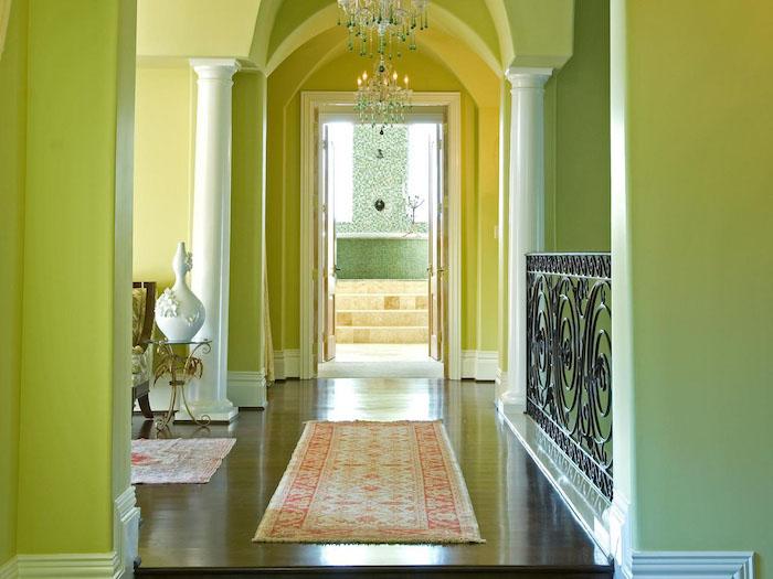 mint programm farben nuancen des grünen im flur traumteppich persischer teppich fenster zweistöckiges haus