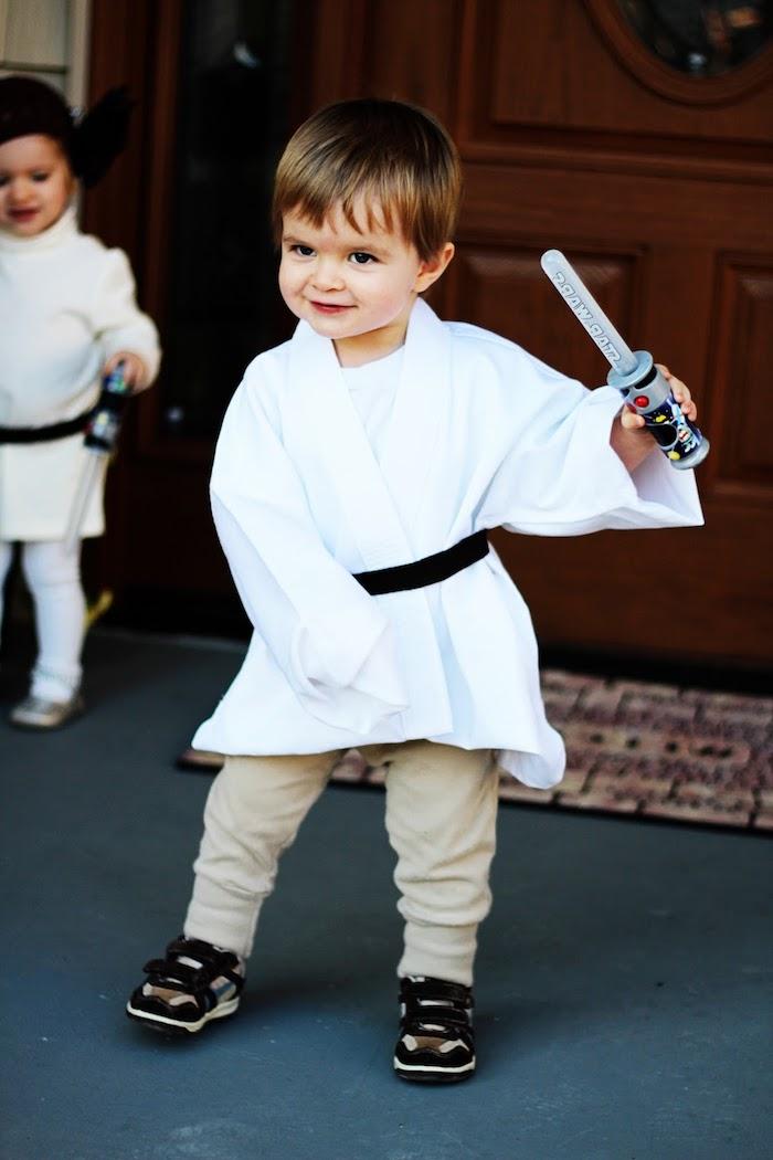 Star Wars Kostüm - coole Halloween Kostüme für Kinder - ganz niedlich