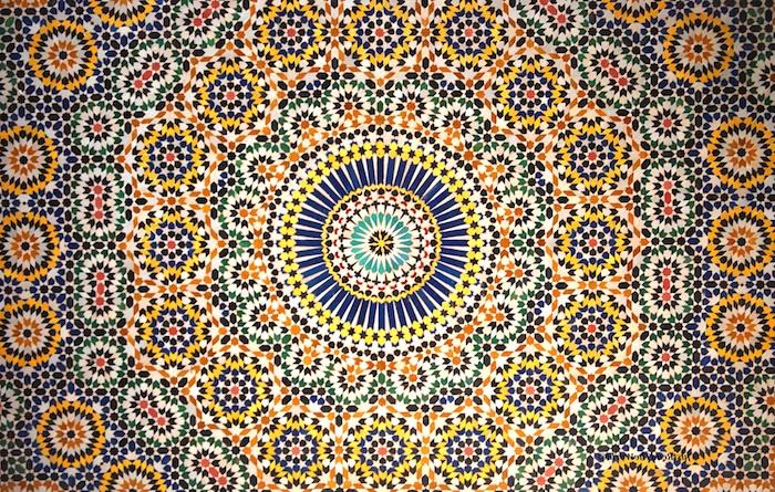 marokko hauptstadt typische muster dekorationen maghreb afrika nordafrika arabisches land