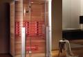 Genießen Sie die wohltuende Wirkung der Wärme in einer luxuriösen Infrarotkabine