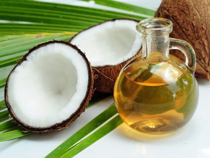 kokosöl haut, reinigungsmittel mit kokos und olivenöl selber machen
