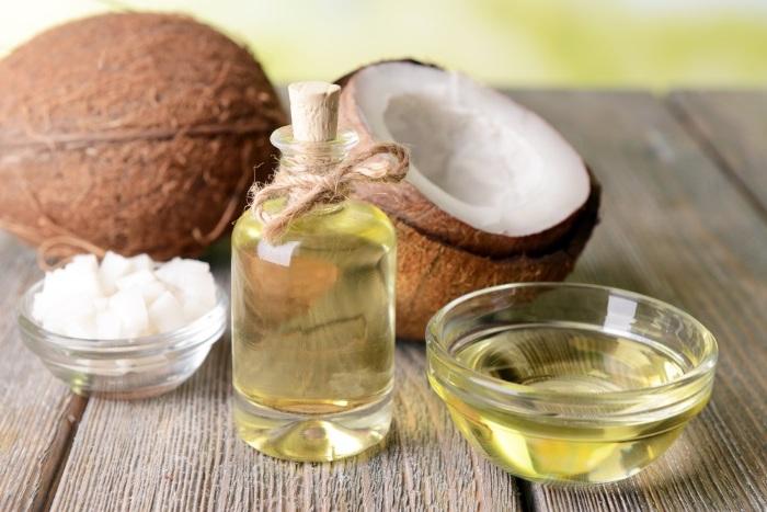 kokosöl haut, duschöl mit kokos und ölivenöl selber machen