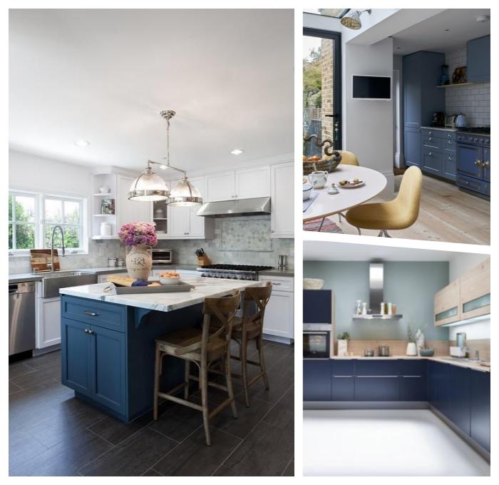 küche deko ideen, vase mit blumen, zimmer dekorieren, kücheneinrichtung in weiß und wieß