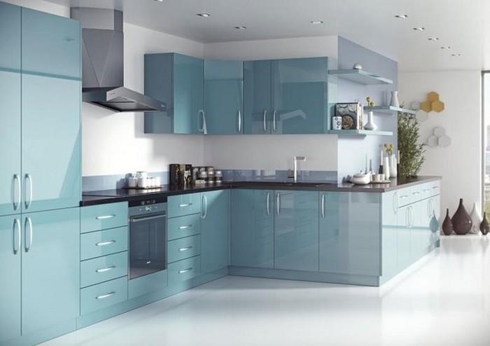 küchenbilder schöne moderne küche glänzendes design gut polierte kücheneinrichtung