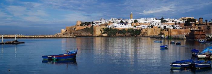casablanca marokko das land des sonnenuntergangs wasser boot aussicht erde