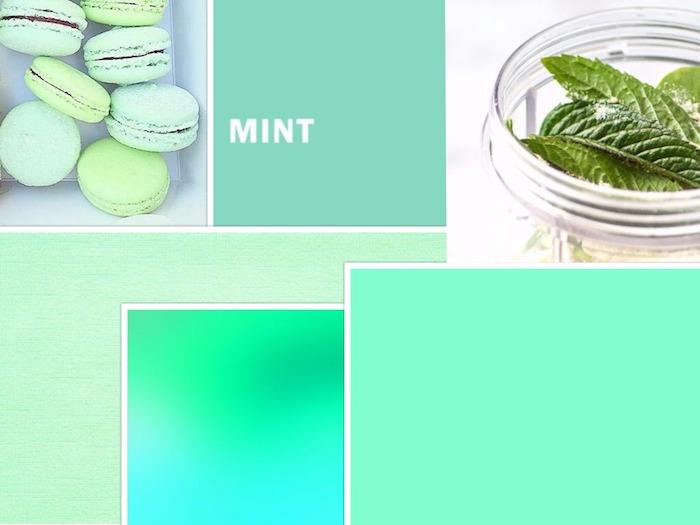 beispiel für mintgrüne farben nuancen inspiration gesund für die augen und die seele macaroons minze farben