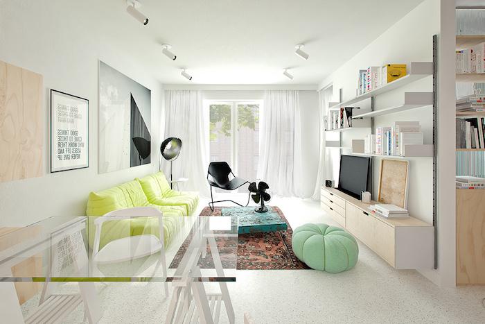 kleider mintgrün ideen harmonische farben bekleidung und interieur zu hause deko ideen bodenkissen grün orientalische deko