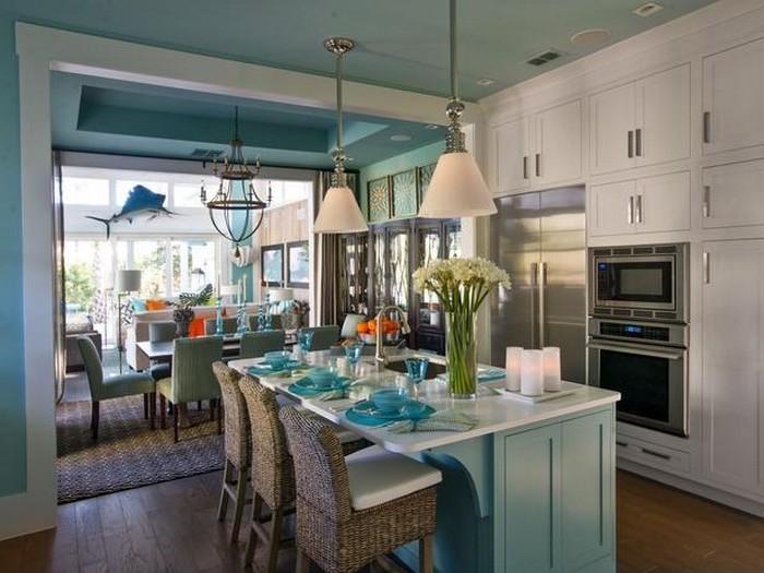 designer küchen zum erstaunen schönes ambiente gedeckter tisch offizieller abend