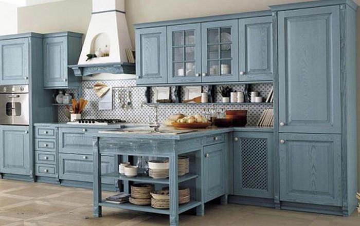 designer küchen landhaus küche inspirierendes design küche in blau und weiß