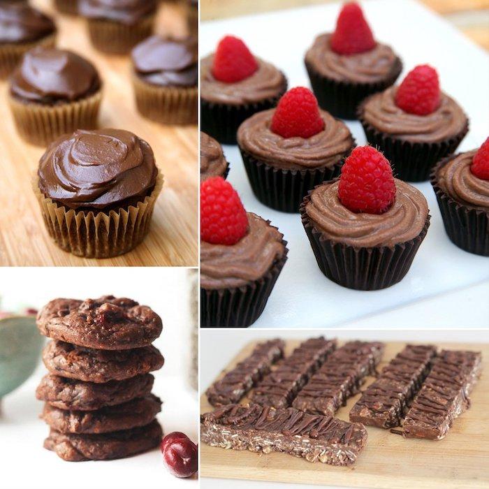 schokoladenherstellunf ideen für verschiedene rezepte zur veganen schokolade vegane muffins vegetarische kekse kinderriegel riegel bioriegel