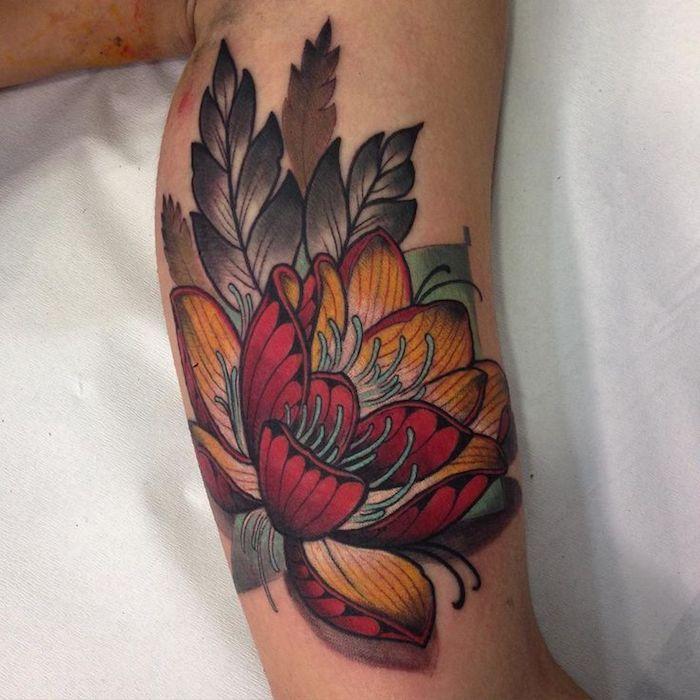 mnner tattoos oberarm tribal katze oberarm jeannine u carpe diem tattoo adler tattoo motive. Black Bedroom Furniture Sets. Home Design Ideas