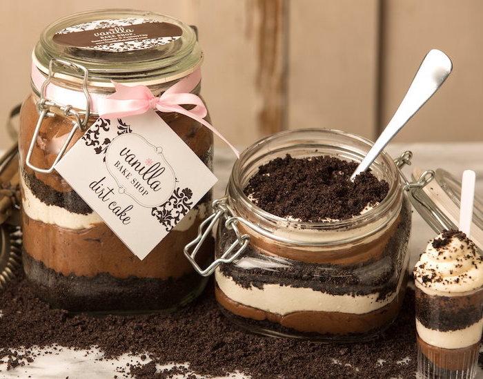 tafel schokolade verschmelzen und mit anderen leckeren gesunden zutaten mischen einmachglas zum schenken