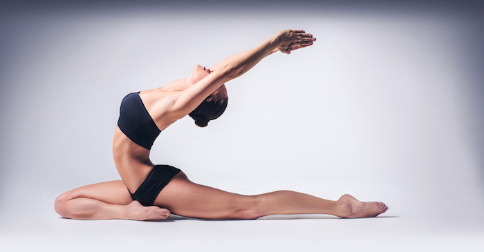 Ayurveda Vata Dosha Balance, ästhetisches Fotografie, die die Schönheit des menschlichen Körpers zeigen