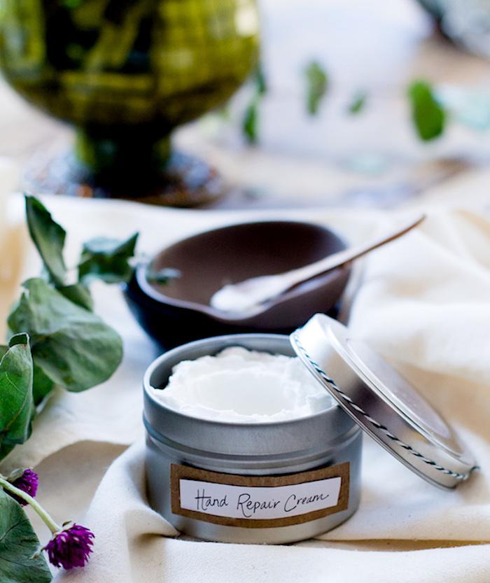 creme selber machen, selbstgemachte handcreme mit kokosöl