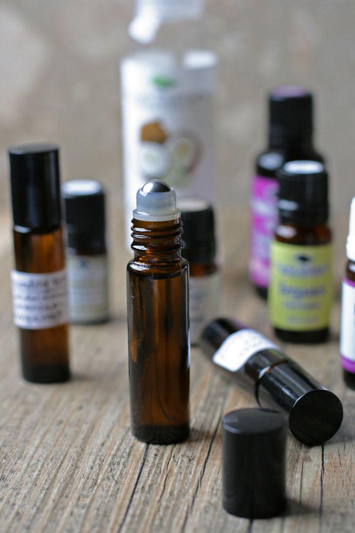 naturkosmetik selber machen, roll on parfüm mit ätherischen ölen