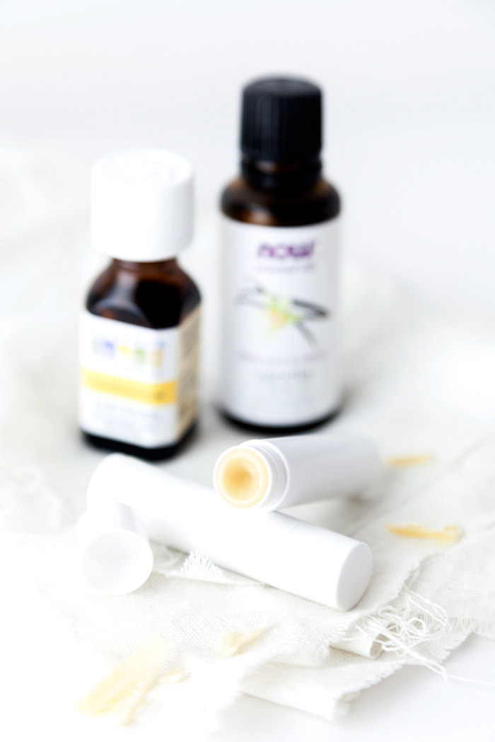 naturkosmetik selber machen, festes parfüm mit vanille und mandelöl