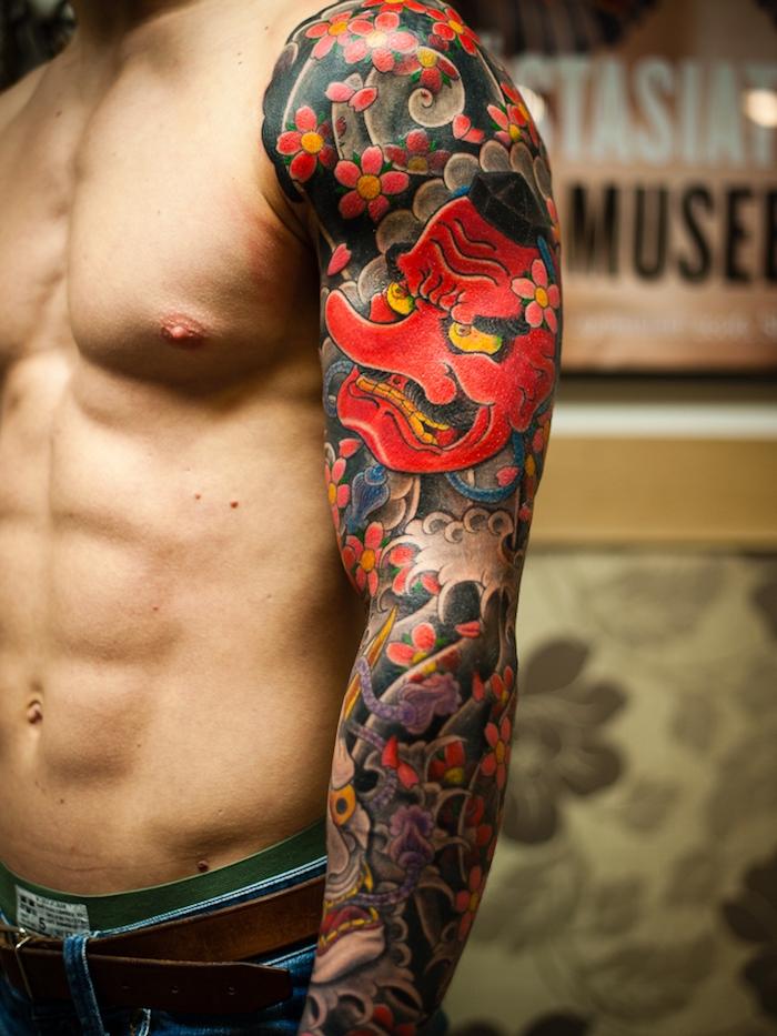 tattoo ganzer arm frau good tattoo ganzer arm frau with. Black Bedroom Furniture Sets. Home Design Ideas