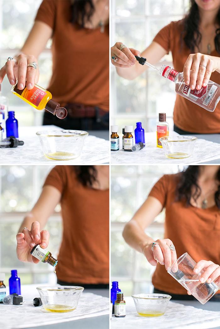 parfum selbst herstellen, zutaten für das parfüm mischen, selbstgemchte kosmetiprodukte