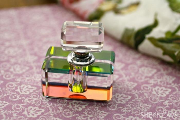 parfüm für dich, parfümflasche aus glas, selbstgemachte geschenke für frauen