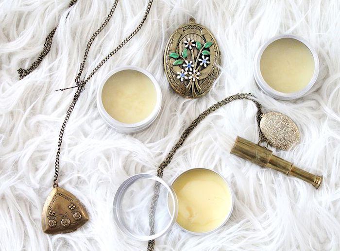 parfum selber machen, selbstgmachte parfüm bars mit vanille, diy kosmetik