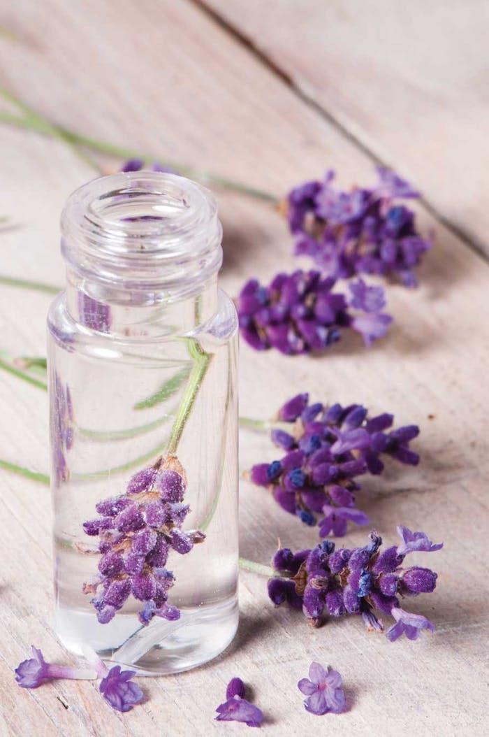 kosmetik selber machen, parfümöl mit lavendel, selbstgemachte kosmetische produkte