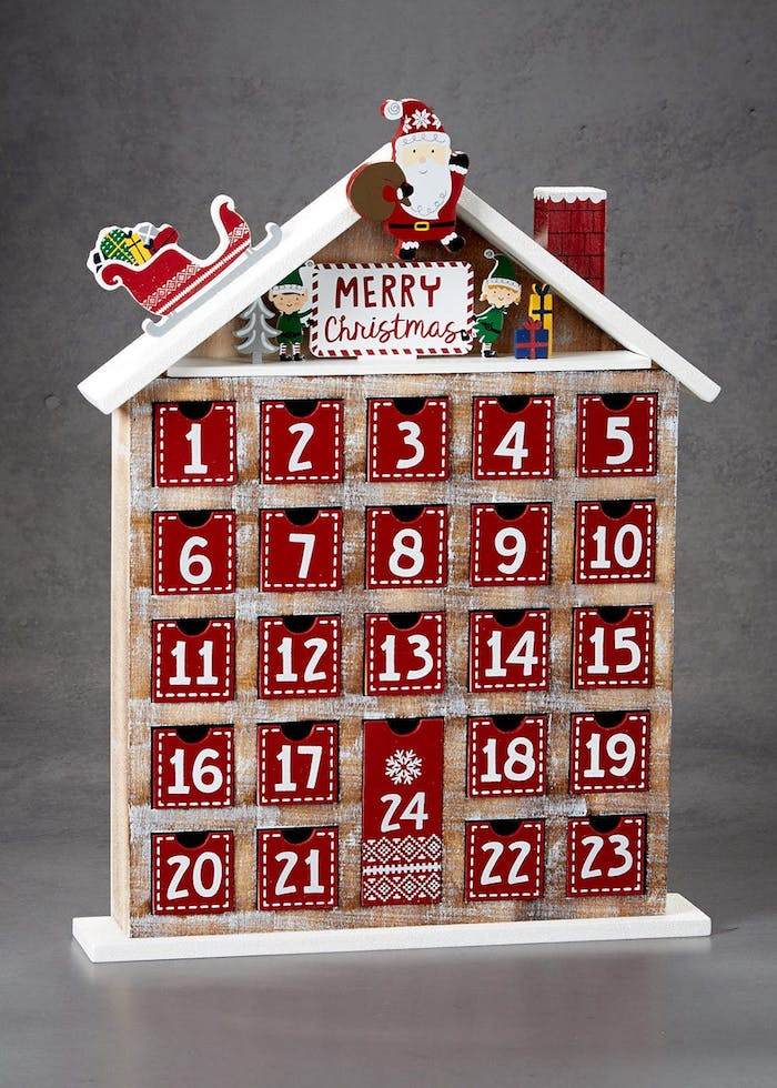 How should I fill the advent calendars for men?