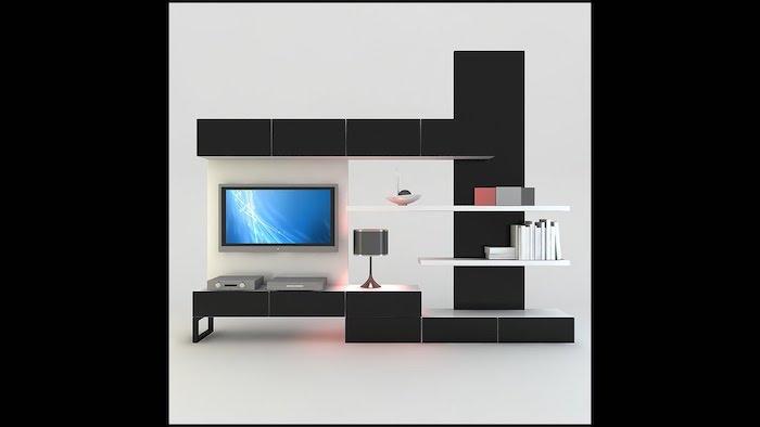 tv wand wandgestaltung wanddeko ideen einrichtung wohnzimmer design schlafzimmer zimmerdeko
