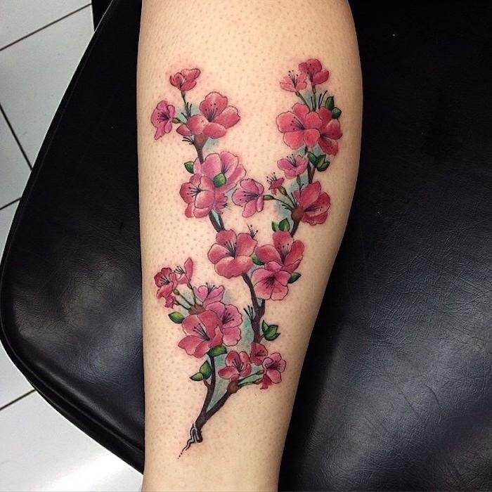 1001 Coole Und Effektvolle Kirschbluten Tattoo Ideen