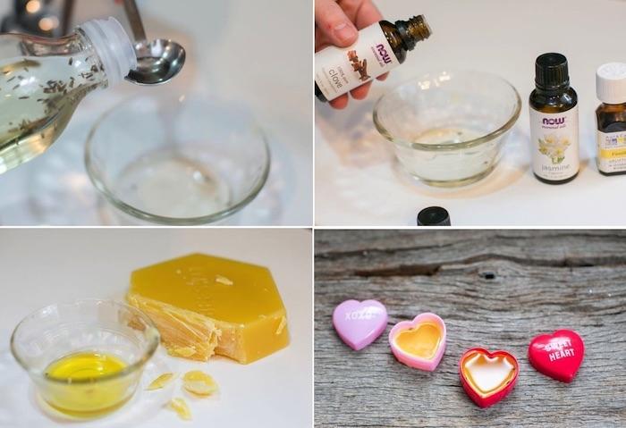 bodylotion selber machen, selbstgemachte lotion bars mit vanille und mandelöl