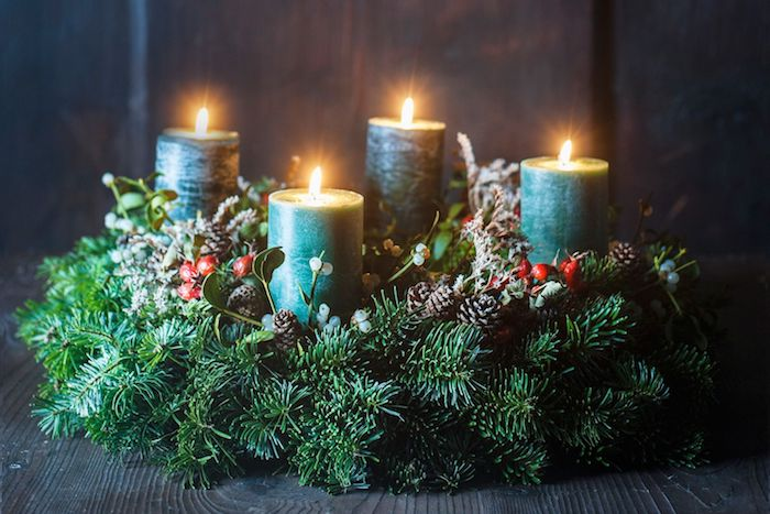 advent wreath  pictures  instructions  simple steps lifestyle trends tips