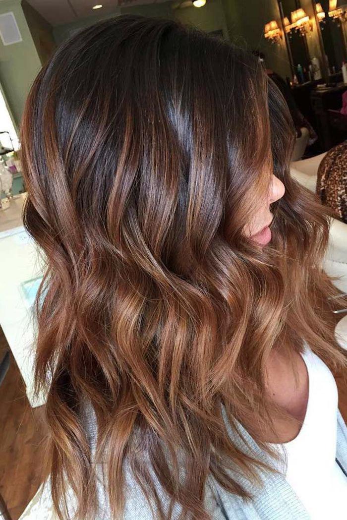 1001 coole ideen f r die bezaubernde haarfarbe caramel for Balayage braun caramel