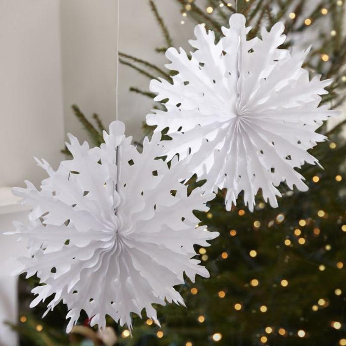 einfache schneeflocken basteln kinder schneeflocken vorlage basteln aus papier