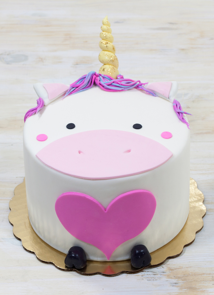 Einhorn Torte - 76 great pictures, recipes and simple instructions