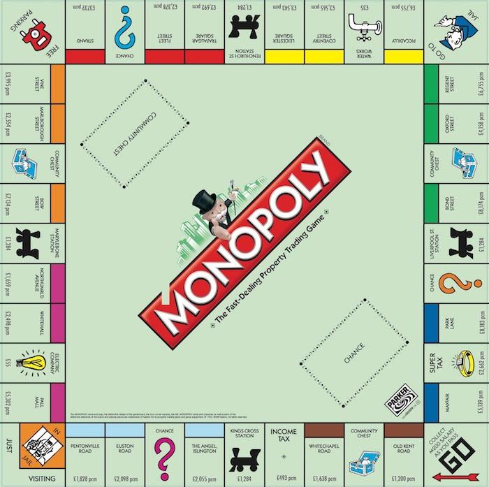 weihnachtsgeschenke für beste freundin das brett zum spielen grünes brett monopoly spiel brettspiel