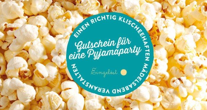 geschenkideen für beste freundin gutschein für das kino für kino begeisterte freundinnen gutscheine schenken pyjamaparty veranstalten