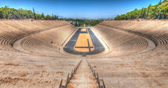 sehenswürdigkeiten athen stadium athen faszinierende antike reste olympisches stadion mit aussicht über die stadt