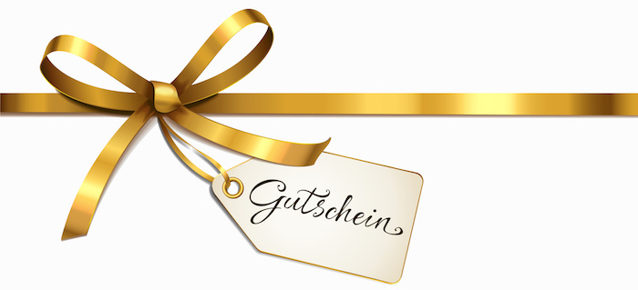 geschenke für die beste freundin giftcard gutschein mit goldener schleife geschenkideen freundinnen schnelle geschenke finden