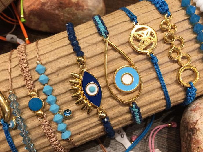 griechenland hauptstadt souveniers für die freunden kaufen armbänder blaue augen schmetterlinge armband idee