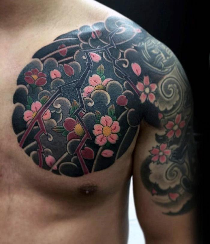 1001 Coole Und Effektvolle Kirschblüten Tattoo Ideen