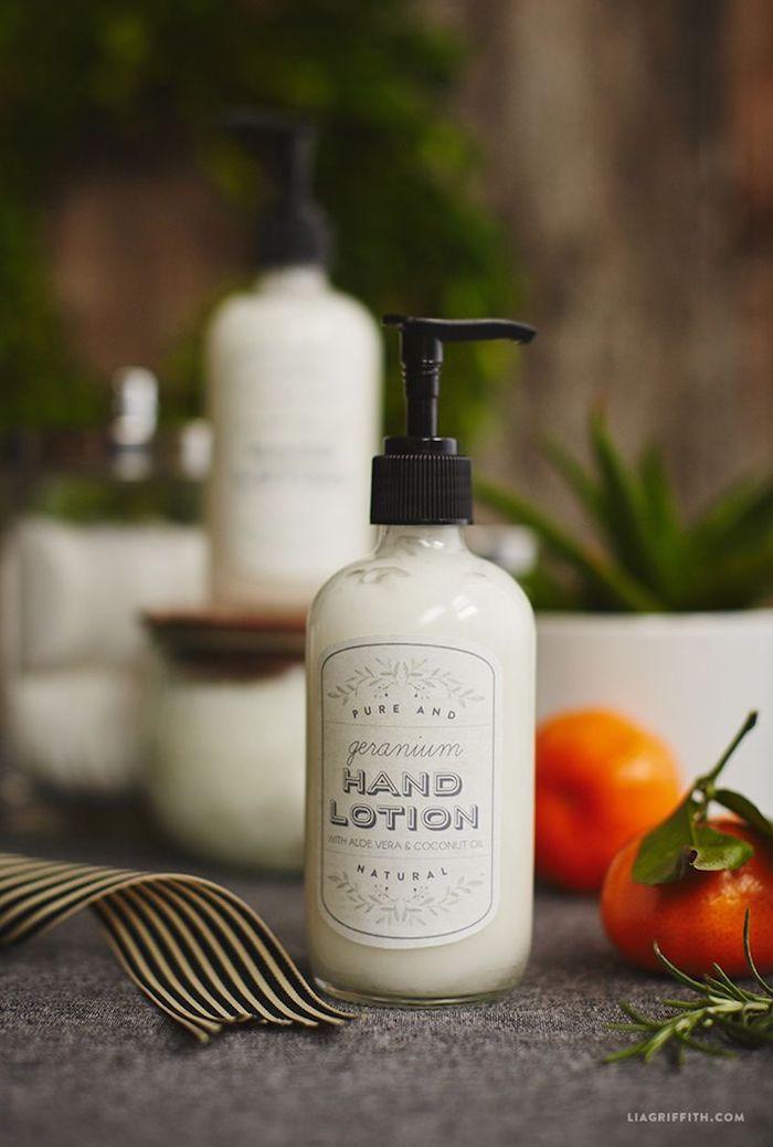 kokosöl kosmetik selber machen, handcreme mit kokos und jojobaöl