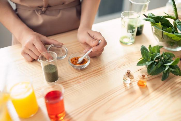 kokosöl kosmetik selber machen, kosmetische produkte aus natürlichen zutaten