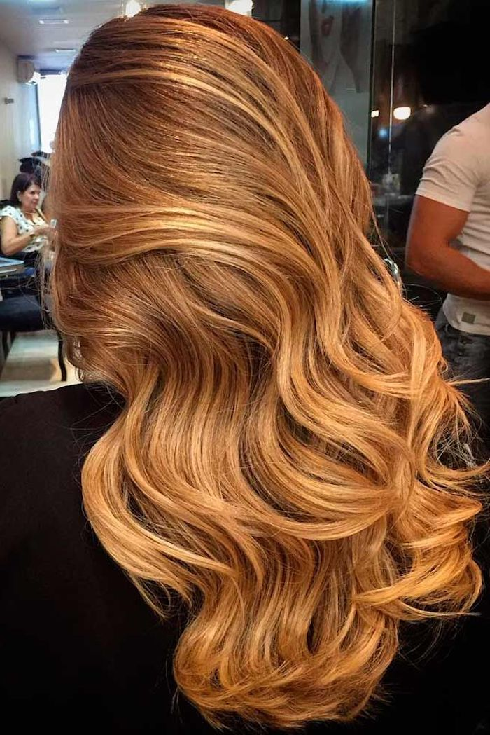Frisuren karamell blond