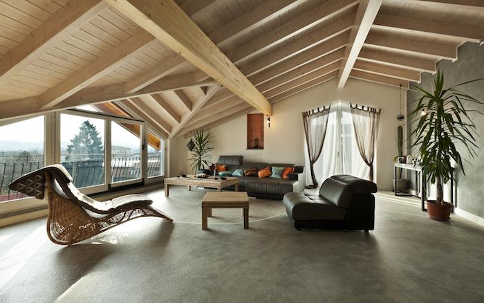 Wohnideen Für Große Wohnzimmer 1001 ideen für einrichtung einer mansarde