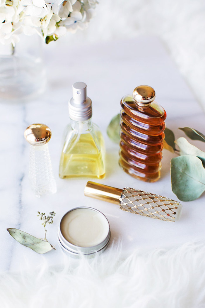 parfum selbst herstellen, parfüm bars und roll on parfüm, kosmetik aus naturprodukten