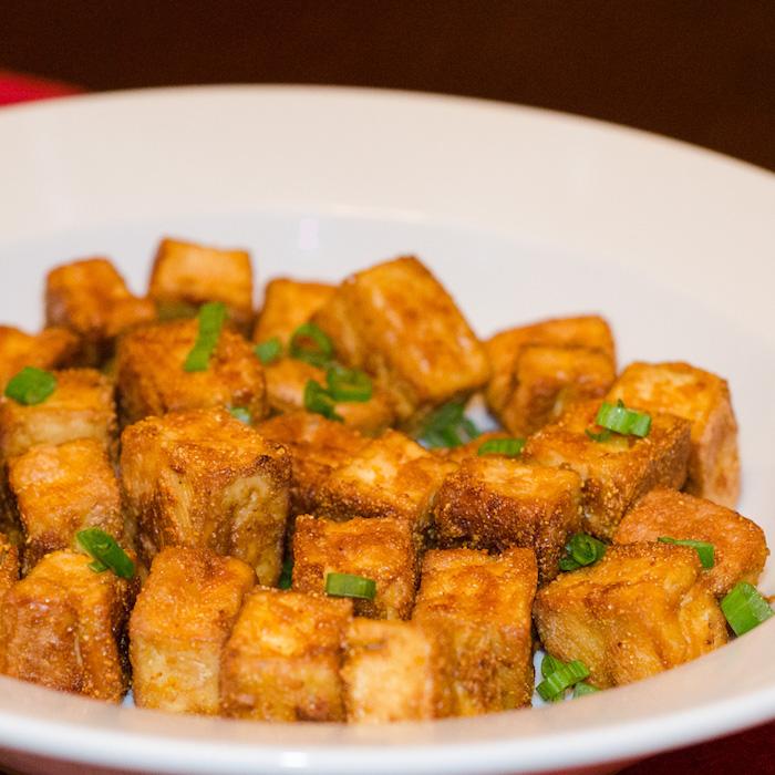 geräucherter tofu knusprige tofu stücke tofu popcorn selber machen filme schauen und genießen kreative idee