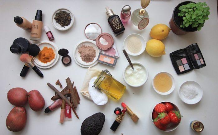 schminke selber machen, selbstgemachte schminken aus natürlichen zutaten