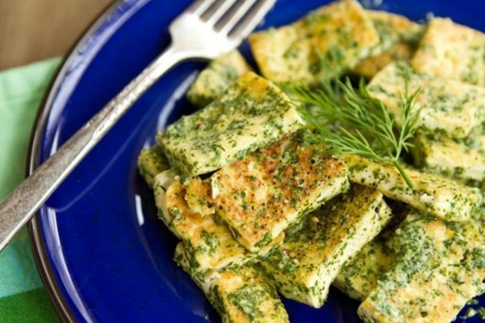 rezept seidentofu tofustücke mit kräutern und gewürzen selber zubereiten leckere speisen zum genießen vorspeise oder mit garnitur als hauptspeise servieren