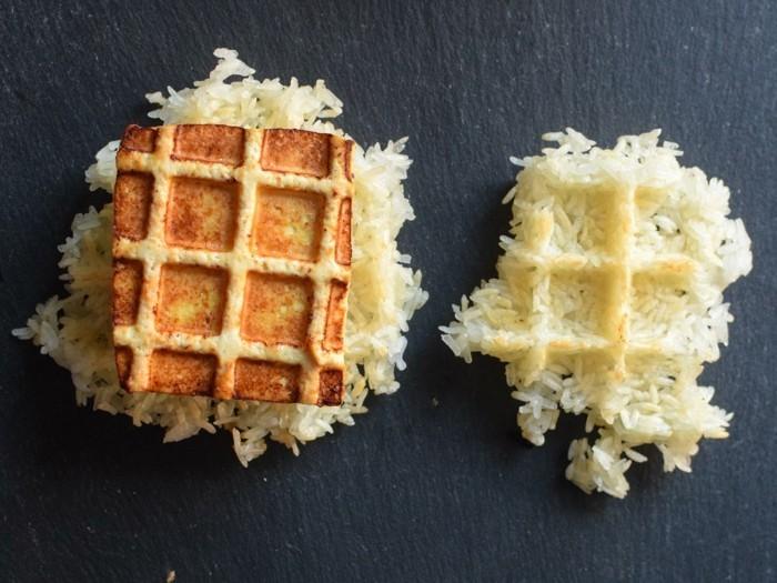 tofu braten kochen und genießen rezep für tofu mit reis selber zubereiten waffel tofuspeise
