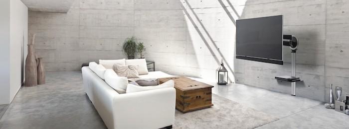 wohnwand weiß oder grau graues design helle farben in de wohnung für mehr licht und gemütlichkeit