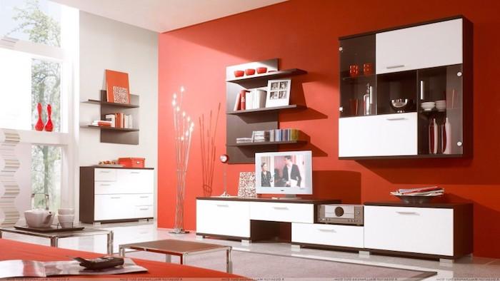 weisse wohnwand welchen hintergrund jeanne and jerome. Black Bedroom Furniture Sets. Home Design Ideas